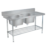 Simply Stainless SS091650DBL Dishwash Table